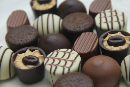 38398788 - luxurious chocolates on a pile