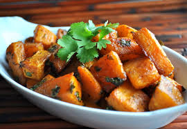 butternut squash roasted image