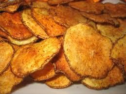 cinnamon sweet potatoe chips