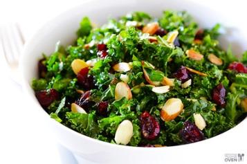 salad with cranberries